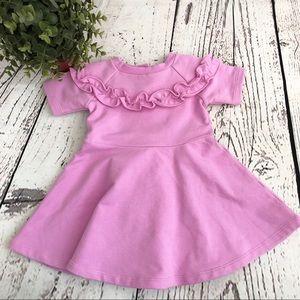 🆕 NEW Janie and Jack • Pink Ruffle Skater Dress